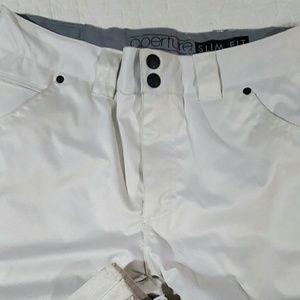 aperture  Pants - White snowboard Pants