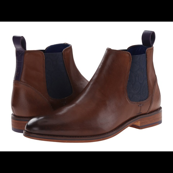 dafe5cb06 NWT Ted Baker Camroon 2 Paisley Panel Chelsea Boot