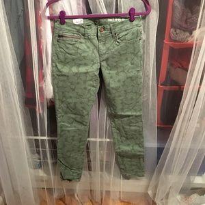 GAP Patterned Legging Jeans