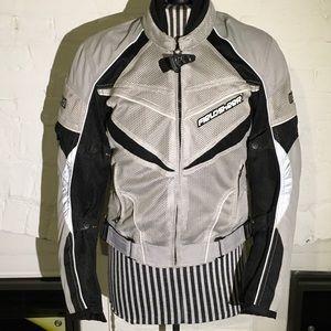 Fieldsheer padded motorcycle jacket size s