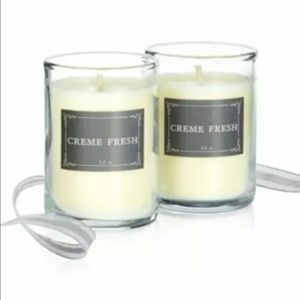 Studio Hall Creme Fresh Votive Candle Set