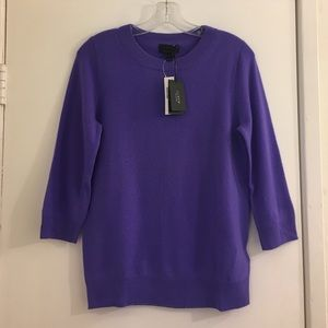 J.Crew Collection Cashmere Tippi Sweater Size S