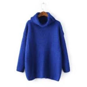 Goodnight Macaroon Sweaters - Like new cobalt blue turtleneck sweater pullover