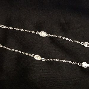 Jewelry - Silver Station Necklace