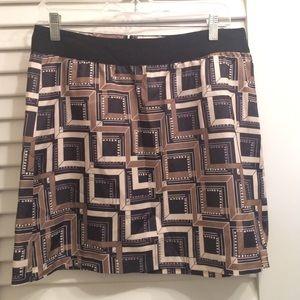 Banana Republic printed skirt
