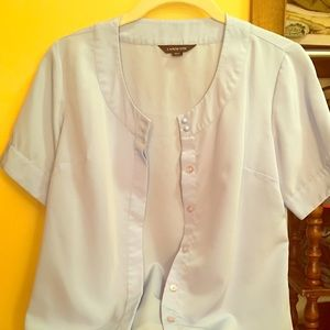 Lands' End Tops - Sky blue blouse, soft and girly.