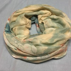 Accessories - Infinity Scarf In hues of blue