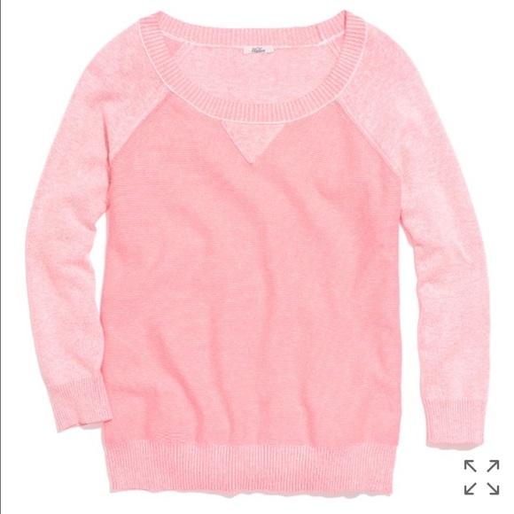 Madewell - Madewell Neon Pink Sweatshirt Sweater from Mayflower's ...