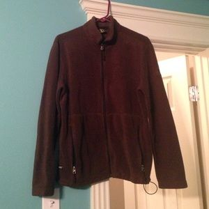 Aigle Other - Brown Fleece Zipup Jacket