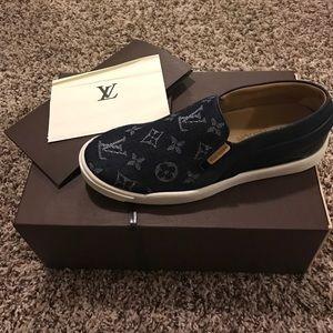 Louis Vuitton Shoes - NWT Louis Vuitton  boat sneakers
