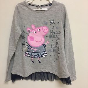 Peppa Pig Other - Peppa Pig ruffle shirt