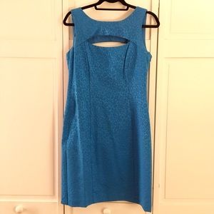 Leslie Fay Dresses & Skirts - NWOT Leslie Fay Blue Print Dress