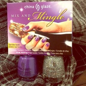China Glaze Mix and Mingle nail polish set