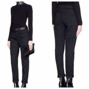 Alexander Wang Denim - Alexander Wang 003 BoyFit In black oversized jeans