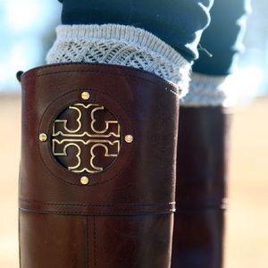 Tory Burch Shoes - Tory Burch Kiernan Riding Boots in Almond