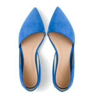 J. Crew Shoes - 🎉HP🎉New w/Box! J. Crew Suede D'orsay flats