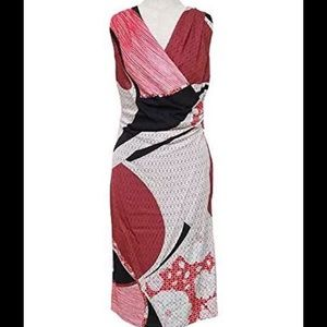 Emilio Pucci Dresses & Skirts - EMILIO PUCCI Silk Red Sleeveless Dress