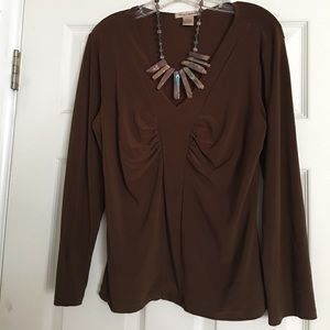 Tops - Chocolate brown Top