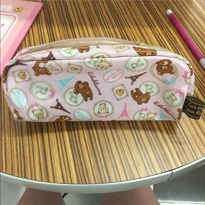 Other - Rilakkuma pink pencil case