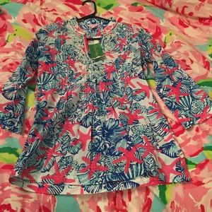 NWT LILLY PULITZER TUNIC