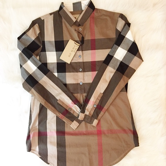 253da59f Burberry Tops | Authentic Shirt New With Tag | Poshmark