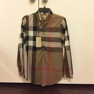 Burberry Tops - Authentic Burberry Shirt New with Tag