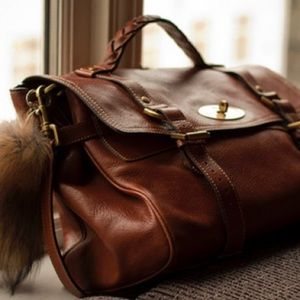 Mulberry Handbags - Mulberry Authentic Brown Leather Oak Soft Buffalo