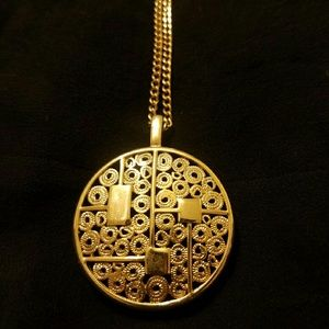 Jewelry - Sarah Coventry Vintage Medallion Pendant