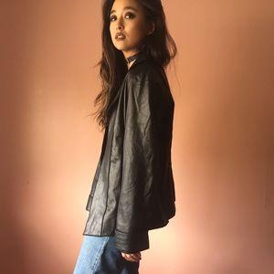 Vintage Lightweight Leather Jacket