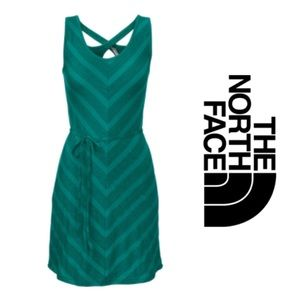 North Face Teal Chevron Dress