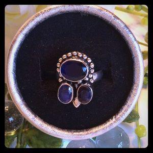 Jewelry - BOHO NATURAL SAPPHIRE RING