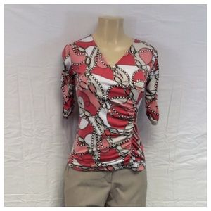 Style & Co Tops - STYLE & CO MULTICOLOR LADIES TOP