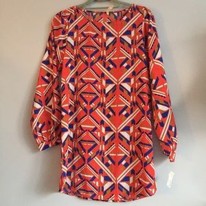 Necessary Clothing Dresses & Skirts - Colorful Print Dress SZ S