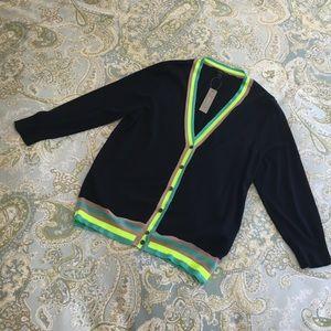 J. Crew Sweaters - NWT J.CREW Cardigan size M navy