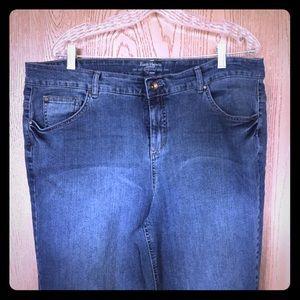 Ruff Hewn Plus Size Jean-Size 18