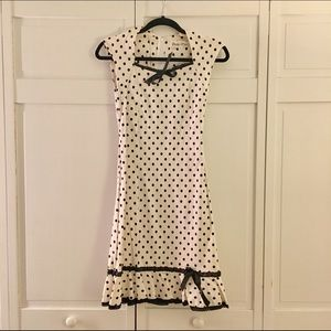 Bettie Page Dresses & Skirts - Bettie Page PinUp Polka Dot Dress