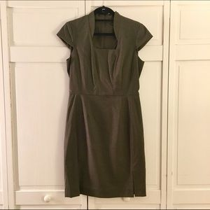 ANTONIO MELANI Dresses & Skirts - Antonio Melani Dark Green Sheath Dress