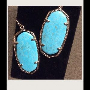 Kendra Scott Turquoise Earrings