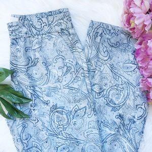 Joie Pants - 🆕 Joie Paisley Silk Pants