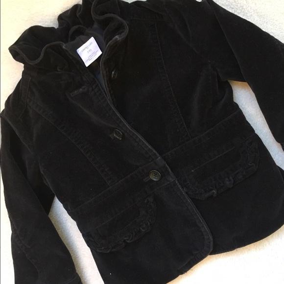b8f7129beea1 J. Crew Jackets & Coats | J Crew Crewcuts Toddler Girl Velvet Blazer ...