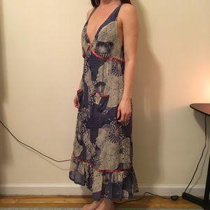 Calypso St. Barth Dresses & Skirts - Calypso Floral Silk Printed Sleeveless Dress