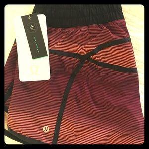 lululemon athletica Pants - Simply Radiant Stripe Ombré Lulu Tracker Shorts