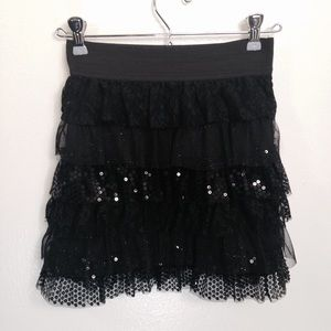 Amy Byer Other - Sequins and Lace Skirt