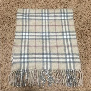 Burberry Accessories - Authentic Burberry cashmere scarf, gorgeous colors