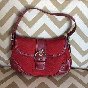 Coach Handbags - Authentic Coach red purse