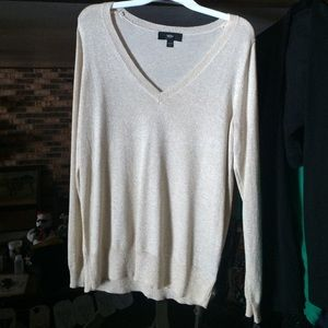 Mossimo Supply Co. Sweaters - NWT XL Gold Shimmer Mossimo Sweater