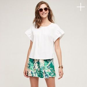 Anthropologie Kadu Pleated Skort by Elevenses