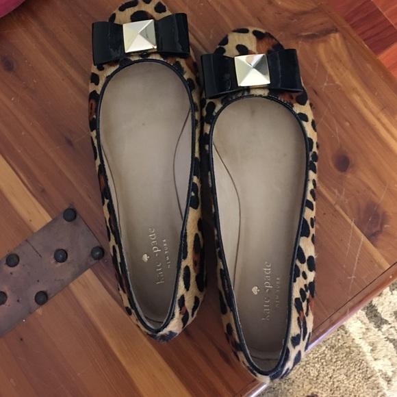 f6fa12059ff0 kate spade Shoes - Kate spade leopard flats