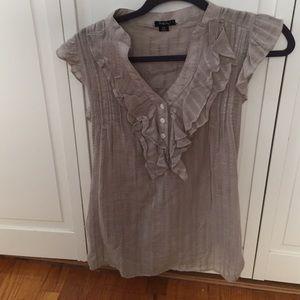 Light grey top