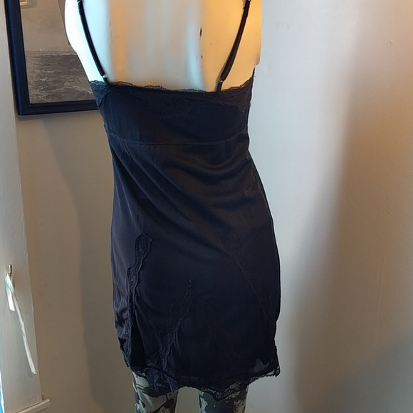 Hurley Dresses - Black Lace Slip LBD